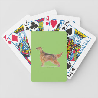 Irish Setters Bicycle Playing Cards