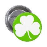 Irish Shamrock 2 Inch Round Button