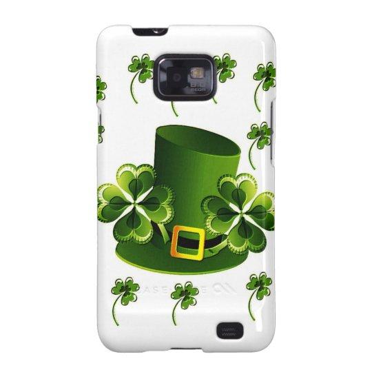 Irish Shamrock Art Samsung Galaxy S2 Cover