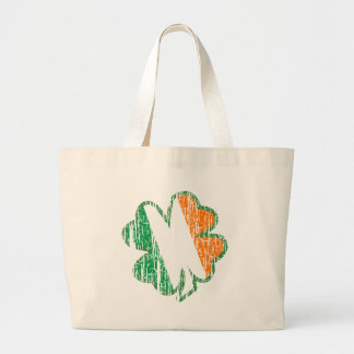 Irish Shamrock Canvas Bag