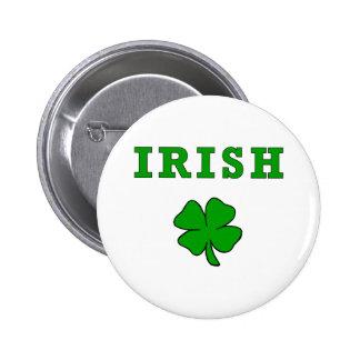 IRISH Shamrock Pin