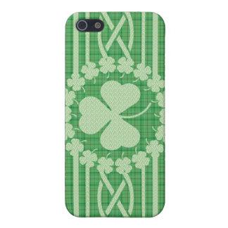 Irish Shamrock Celtic iPhone SE/5/5s Cover