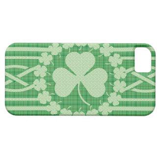 Irish Shamrock Celtic Pattern Custom Case-Mate ID™ iPhone 5 Cases