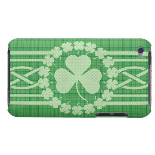 Irish Shamrock Celtic Pattern iPod Touch Case-Mate iPod Case-Mate Cases