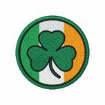 irish shamrock circle track jackets