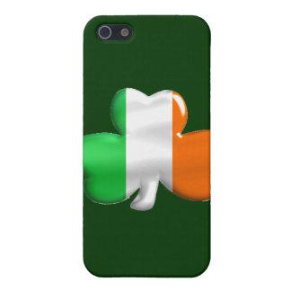Irish Shamrock Clover Flag iPhone SE/5/5s Cover