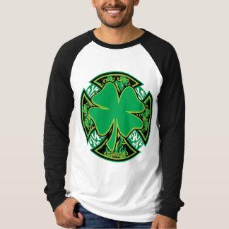 Irish Shamrock Cross T-Shirt