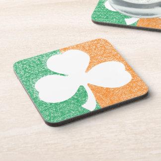 Irish Shamrock custom coasters
