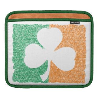 Irish Shamrock custom iPad sleeve