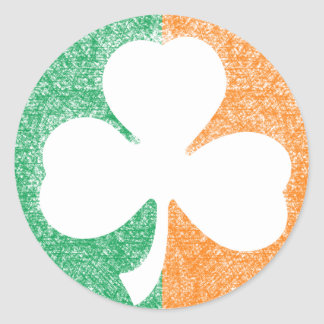 Irish Shamrock custom stickers