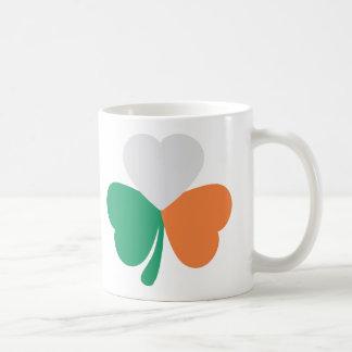 irish shamrock flag coffee mug