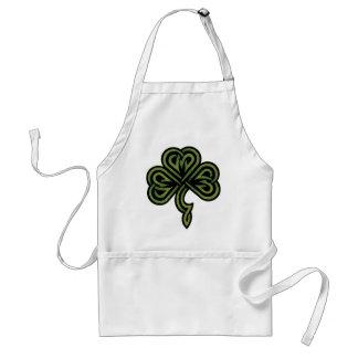 Irish Shamrock Gift Adult Apron