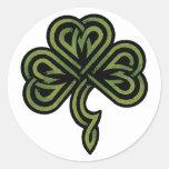 Irish Shamrock Gift Classic Round Sticker