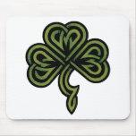 Irish Shamrock Gift Mouse Mat
