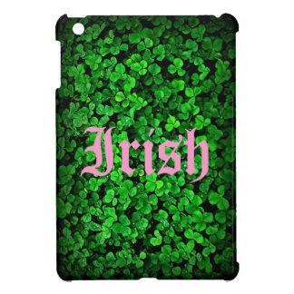 Irish shamrock green clover Ireland Cover For The iPad Mini