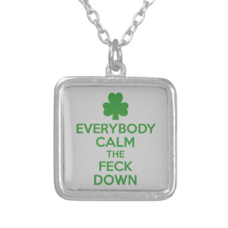 Irish shamrock jewelry