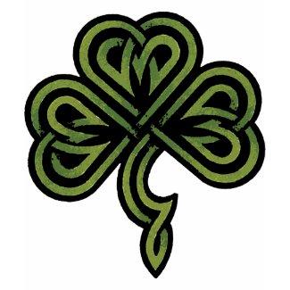 Irish Shamrock Ladies shirt
