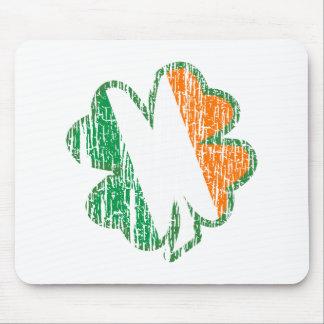 Irish Shamrock Mouse Pad