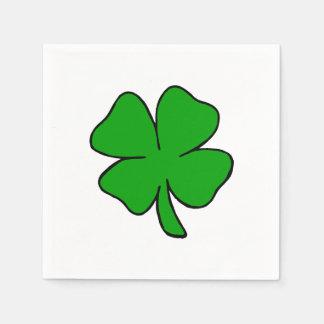 Irish Shamrock Napkin