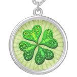 Irish Shamrock Necklace
