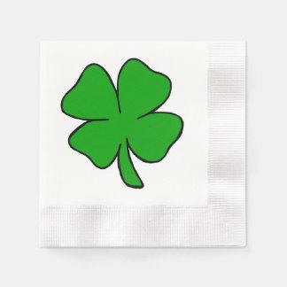 Irish Shamrock Paper Napkin