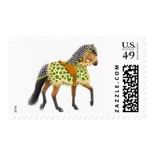 Irish Shamrock Parade Horse Postage
