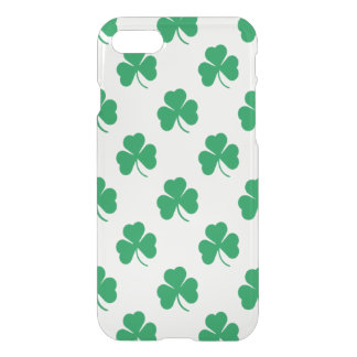 Irish Shamrock Pattern iPhone 7 Case