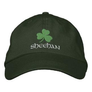 Irish Shamrock Personalized Embroidered Baseball Hat