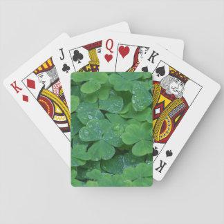Irish Shamrock Playing Cards