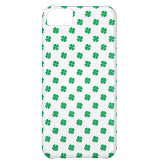 Irish Shamrock Polka Dots iPhone 5C Case