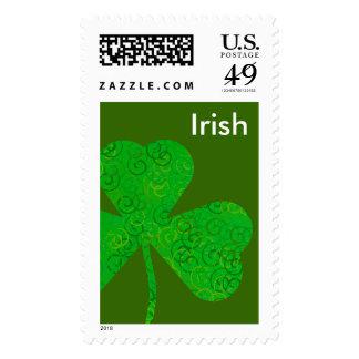 Irish Shamrock - postage