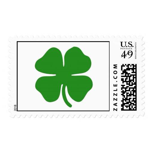 Irish shamrock Postage Stamp