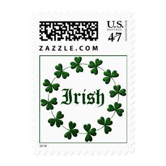 Irish Shamrock Ring Stamp