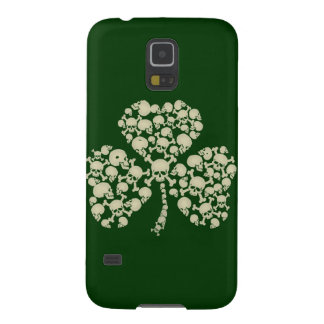 Irish Shamrock Skulls Galaxy S5 Case