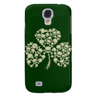 Irish Shamrock Skulls Galaxy S4 Covers