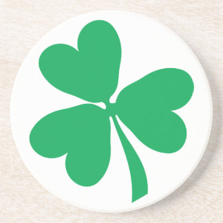 Irish Shamrock/St Patrick's Day Coaster