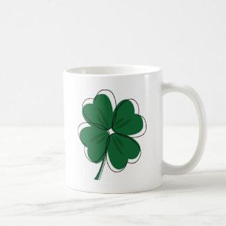 Irish Shamrock & St. Patrick's Day Coffee Mug