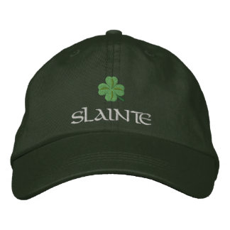 Irish shamrock St Patrick's Baseball Cap