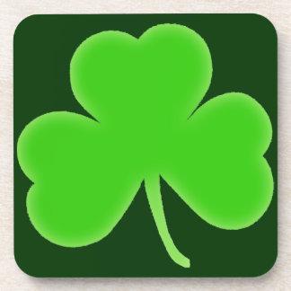 Irish Shamrock Symbol Coaster