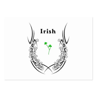 Irish Shamrock Tattoo Large Business Cards (Pack Of 100)