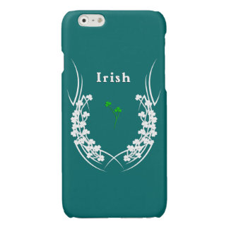 Irish Shamrock Tattoo Glossy iPhone 6 Case