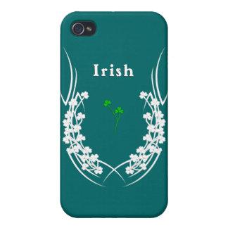 Irish Shamrock Tattoo iPhone 4 Case