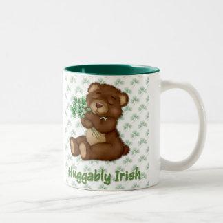 Irish Shamrock Teddy Mugs