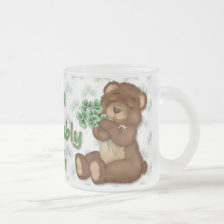 Irish Shamrock Teddy Coffee Mug