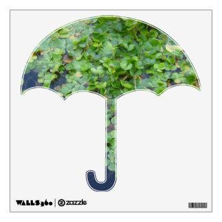 Irish Shamrock Umbrella Decal