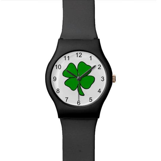 Irish Shamrock Watch