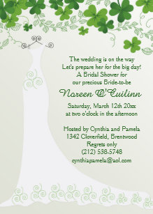 d9107d17d046 Irish Bridal Shower Invitations