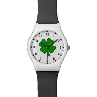 Irish Shamrock Wristwatch