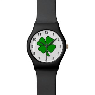 Irish Shamrock Wristwatch