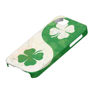 Irish Shamrock Yin Yang Custom Case-Mate ID™ iPhon iPhone SE/5/5s Case